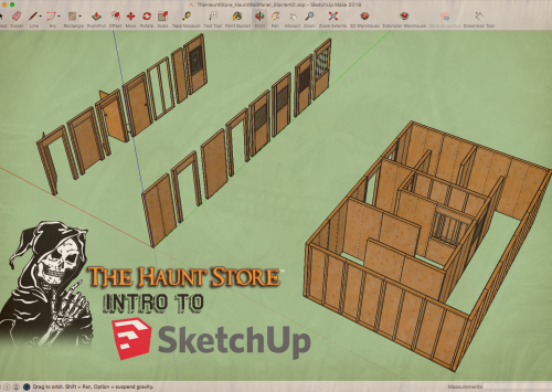 Intro to: Haunt Layout Design Using SketchUp