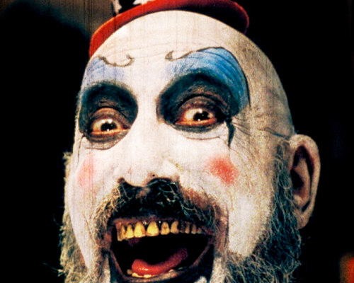 Sid Haig as Captain Spaulding in House of 1000 Corpses