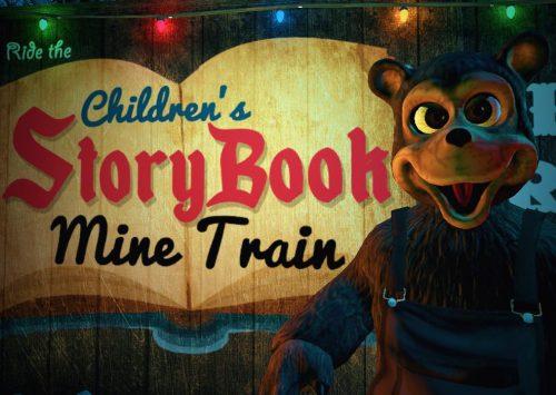 "Spectral Illusions: ""Children's Storybook Mine Train"" VR"