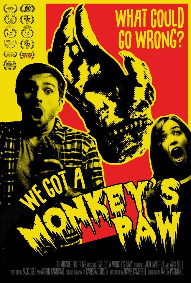 monkeys paw poster