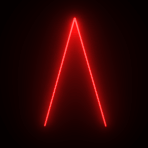 Glowing Triangle Png